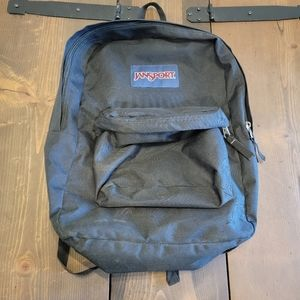 Jansport T501 black backpack